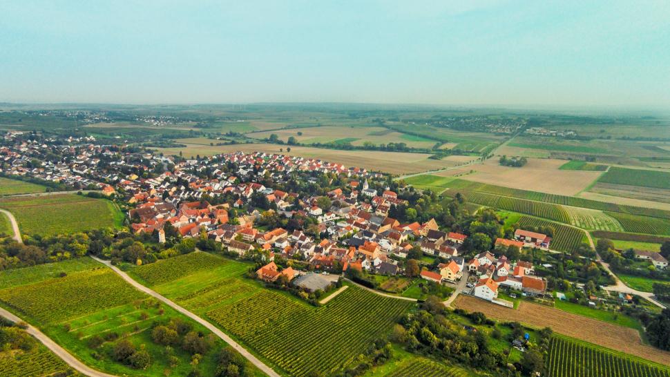 Luftbild Harxheim