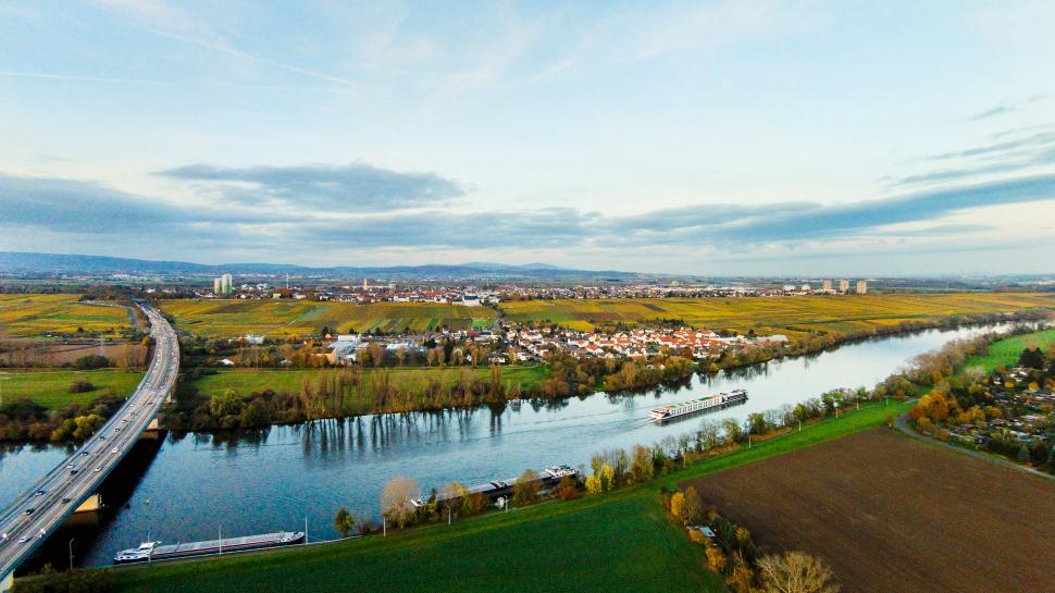 Luftbild Hochheim am Main