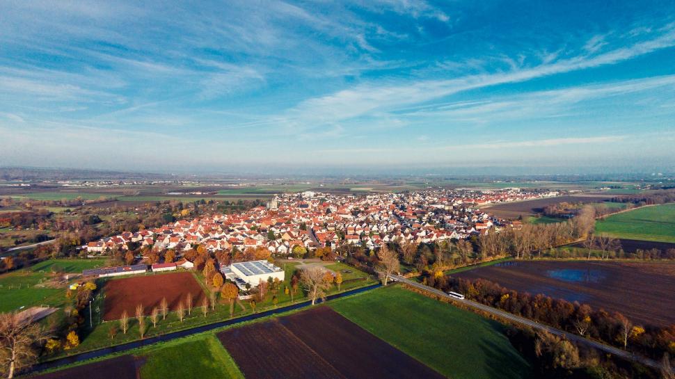 Luftbild Geinsheim
