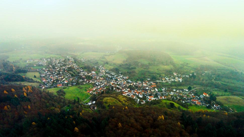 Luftbild Nieder-Beerbach