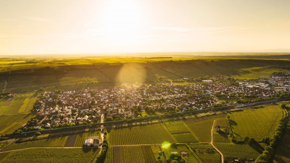 Luftbild Dienheim