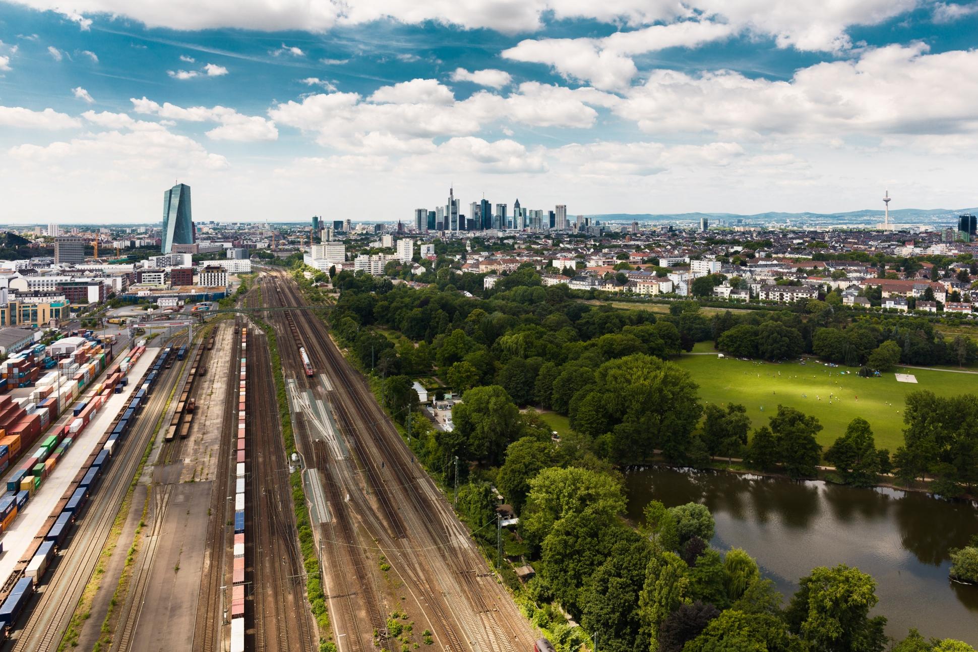 Luftbild Frankfurt am Main