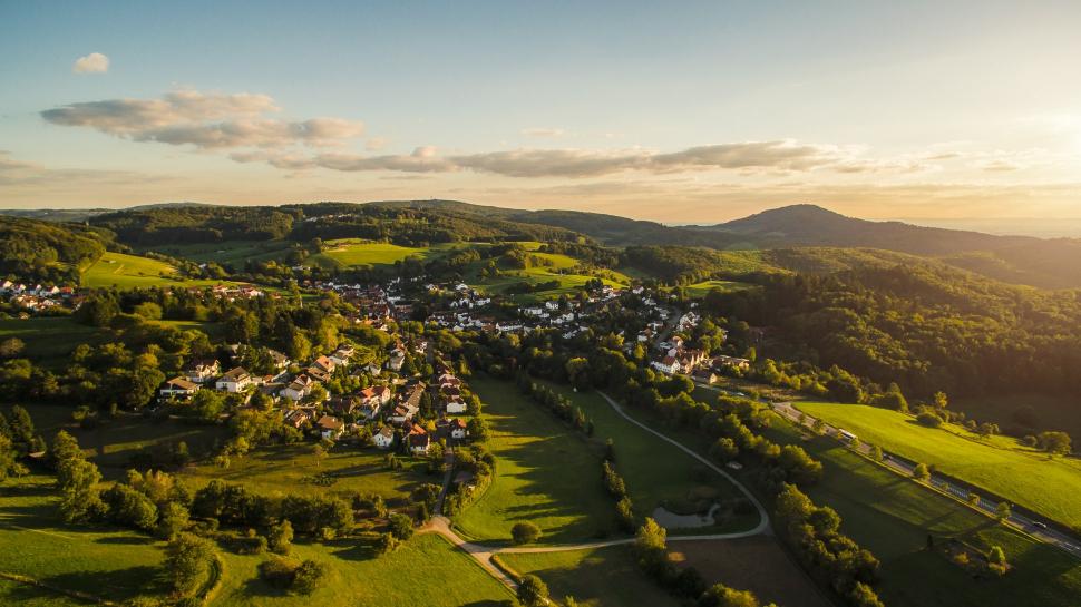 Luftbild Ober-Beerbach