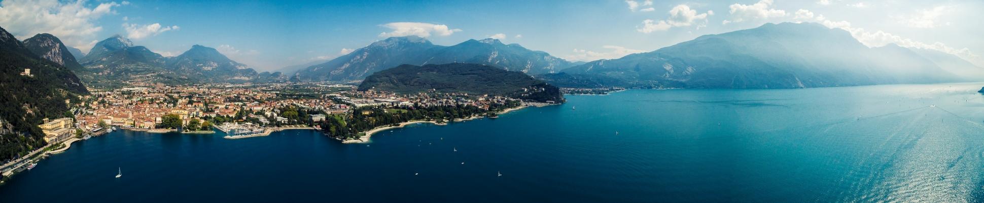 Luftbild Riva del Garda