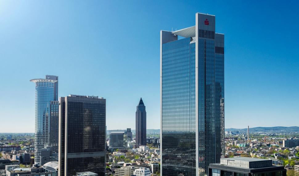 Luftbild Trianon Frankfurt am Main