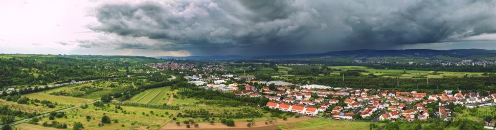 Luftbild Heidesheim am Rhein