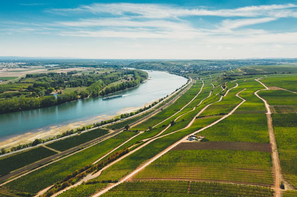 Luftbild Nackenheim