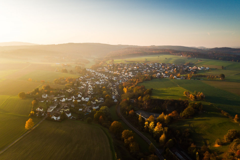 Luftbild Heistenbach