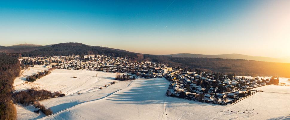 Luftbild Glashütten im Taunus