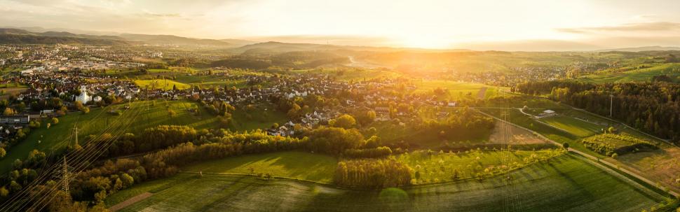 Luftbild Rheinfelden-Karsau