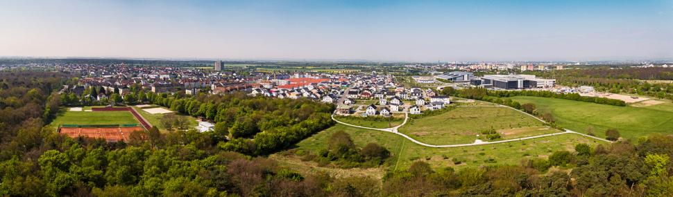 Luftbild Rüsselsheim-Königstädten