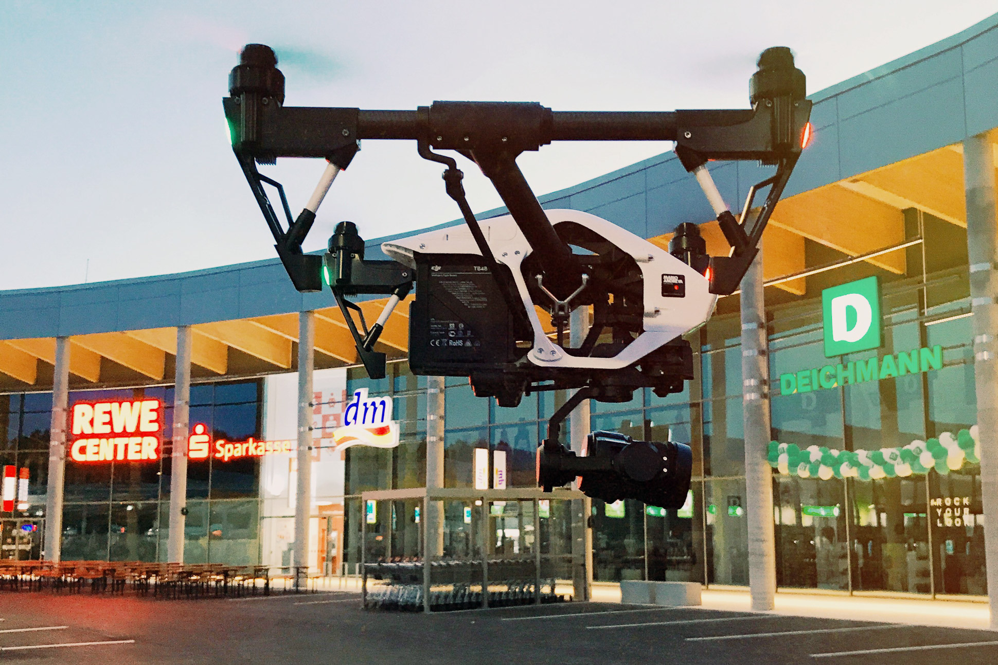 Luftbild Drohne DJI Mavic 2 Pro