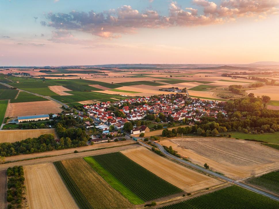 Luftbild Friesenheim