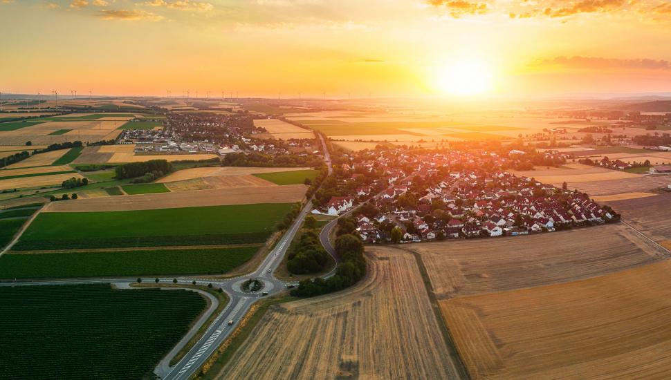 Luftbild Köngernheim