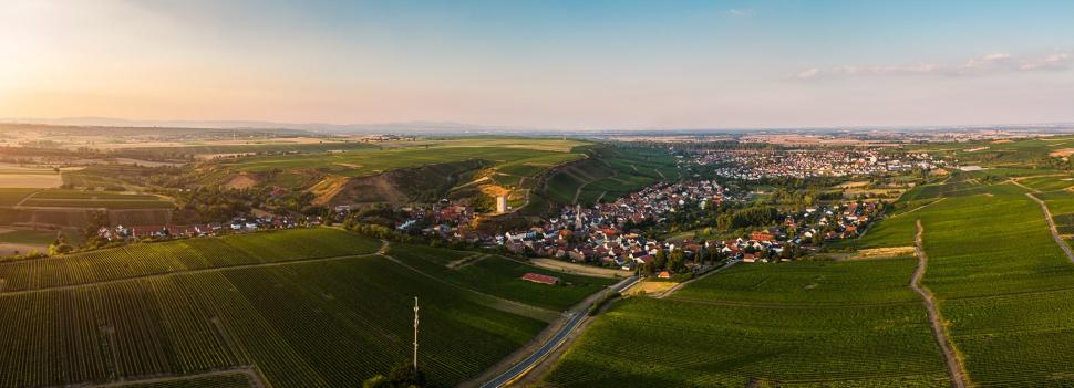 Luftbild Nierstein-Schwabsburg