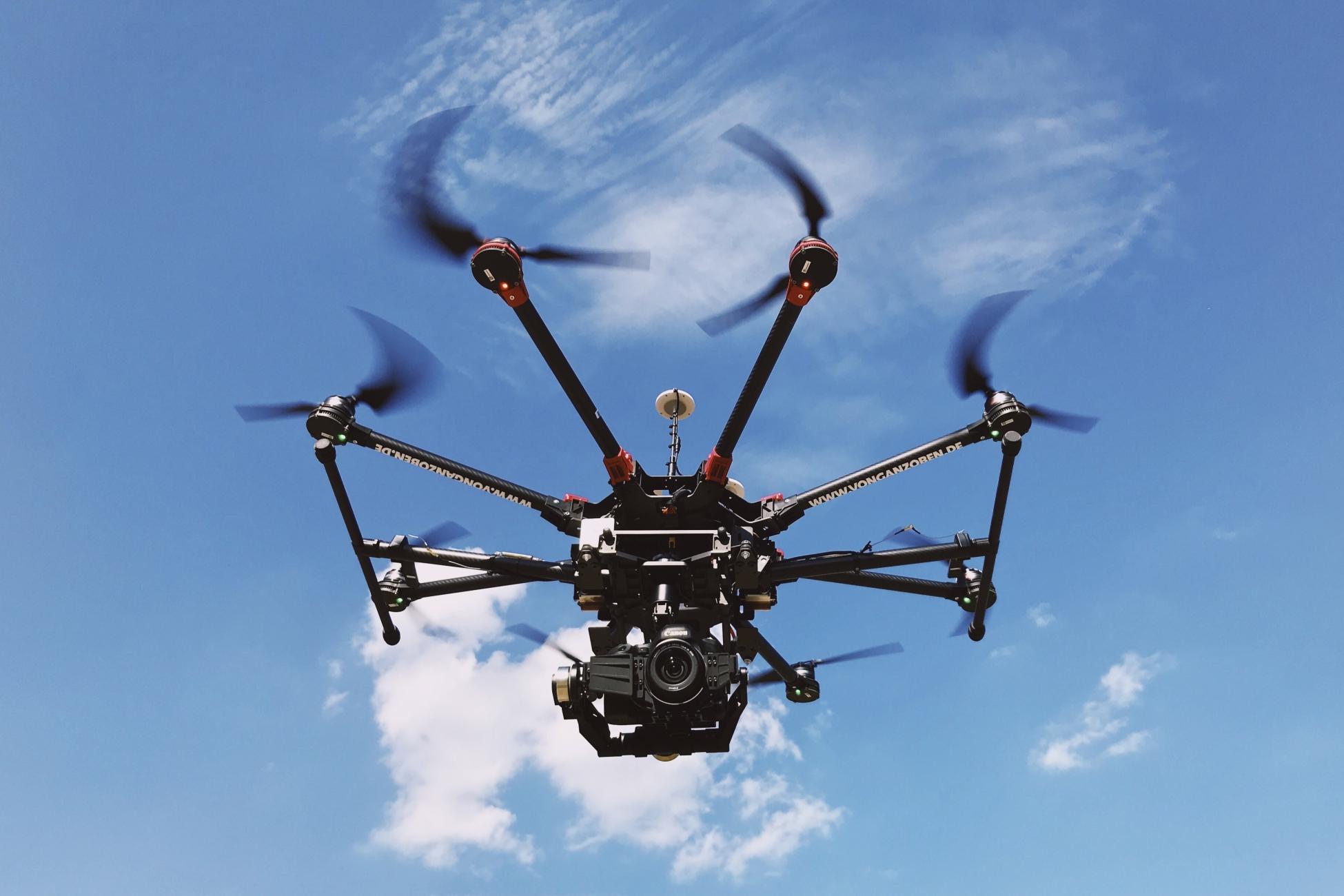 Luftbild Drohne DJI S1000+
