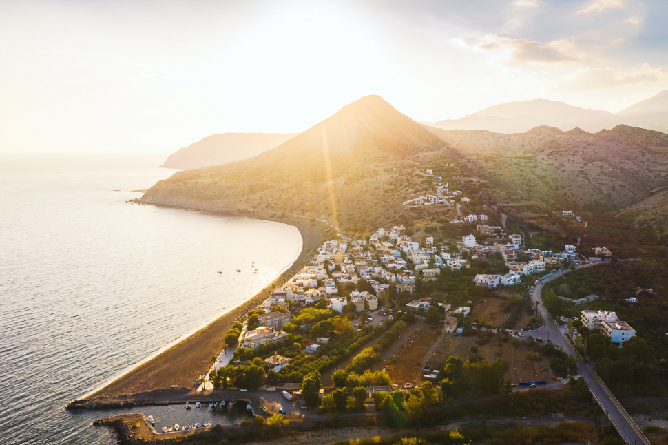 Luftbild Myrtos