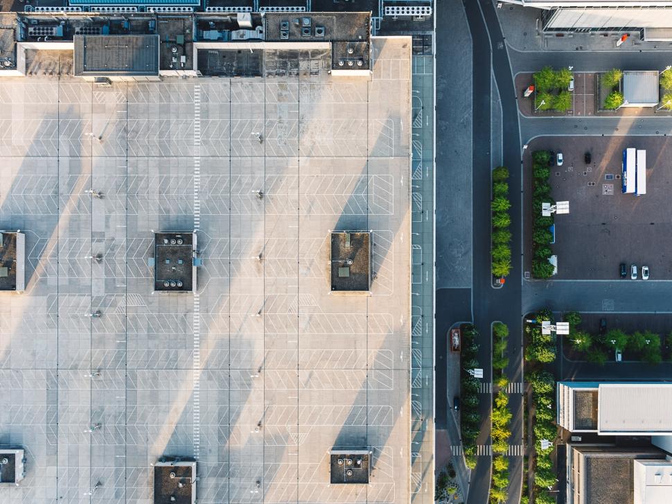 Luftbild Messe Frankfurt