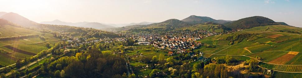 Luftbild Albersweiler