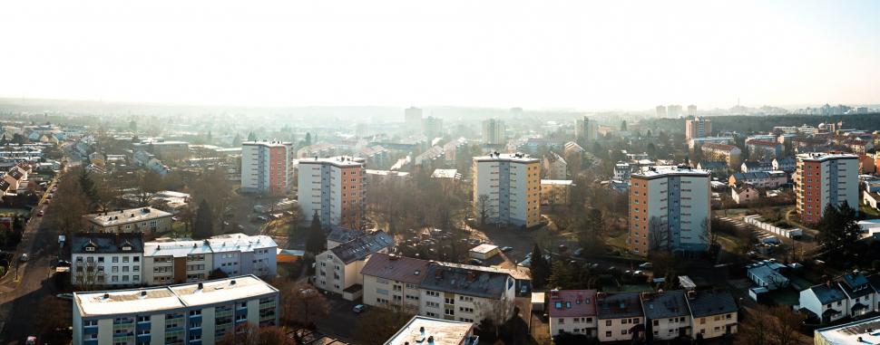 Luftbild Rüsselsheim-Haßloch