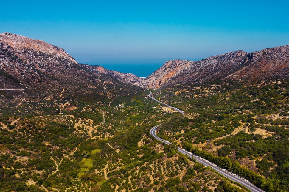 Luftbild Vrachasi