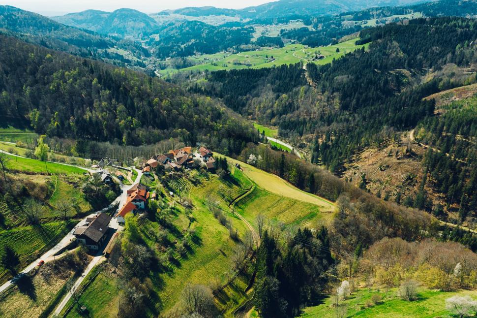 Luftbild Elbenschwand