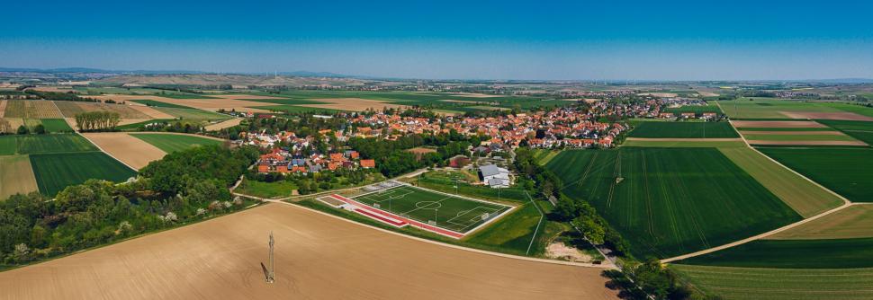Luftbild Undenheim