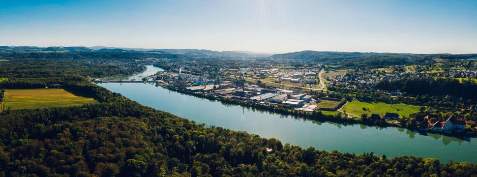 Luftbild Rheinfelden (Baden)