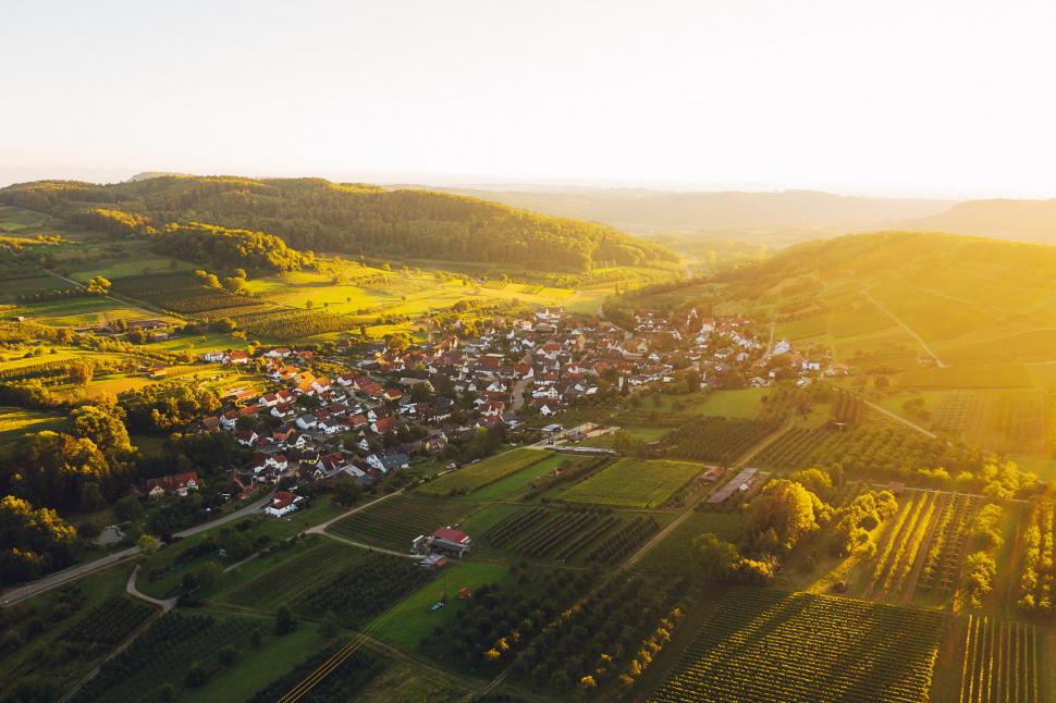 Luftbild Niedereggenen