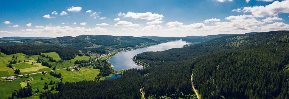 Luftbild Schluchsee