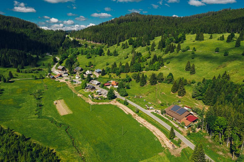 Luftbild Schluchsee-Äule