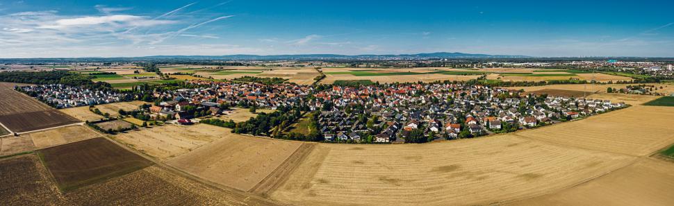 Luftbild Wallerstädten