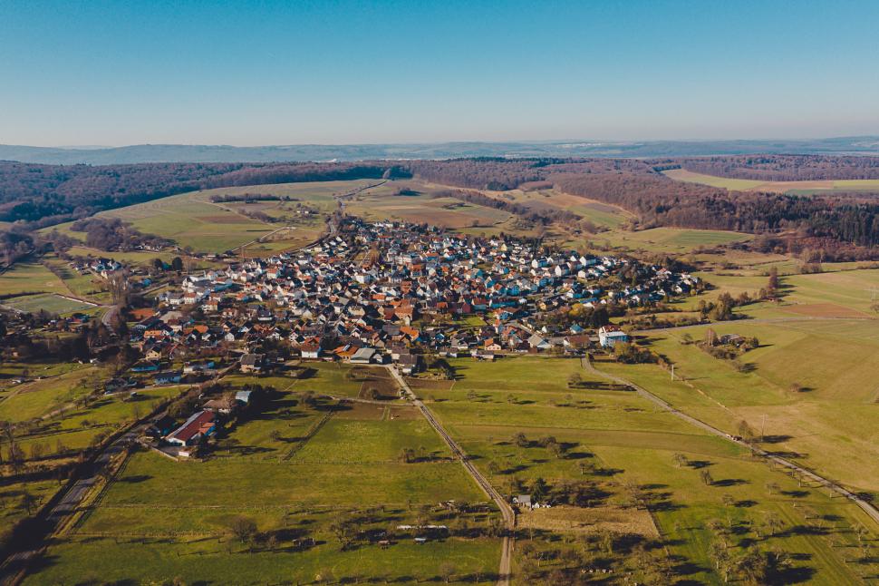 Luftbild Idstein-Heftrich